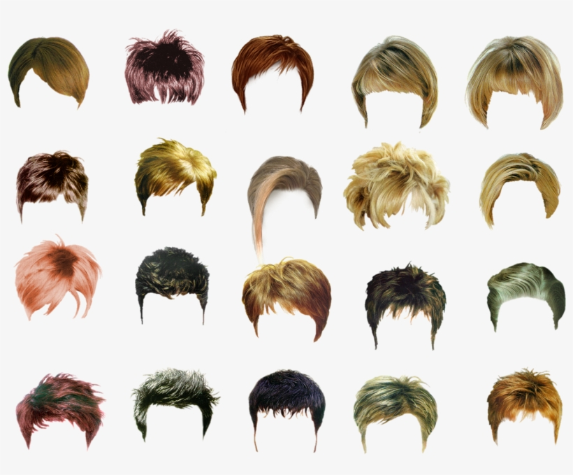 Hair Style For Men Photoshop Hair Adobe Photoshop Png Image