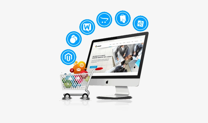 We Are Proficient In E-commerce Design & Development, - Web Design PNG  Image | Transparent PNG Free Download on SeekPNG