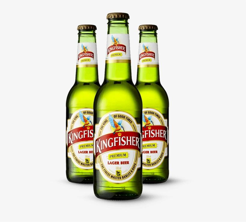 Kingfisher-bottles - Kingfisher Beer@seekpng.com