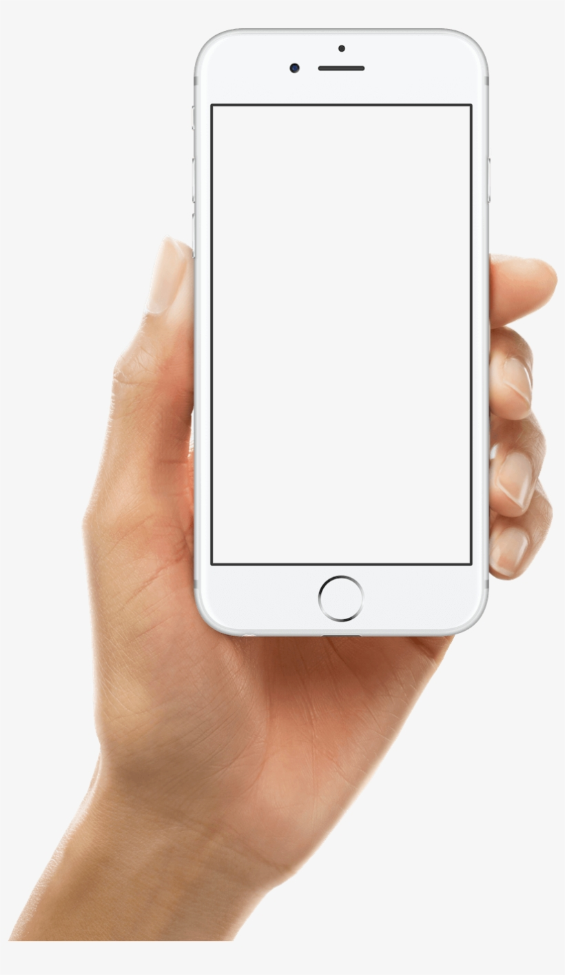Background - Transparent Background Mobile In Hand Png PNG