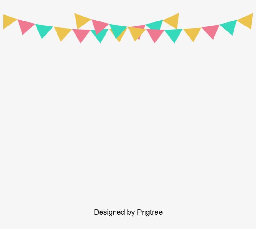 Happy Birthday Small Banner, Banner Clipart, Banner
