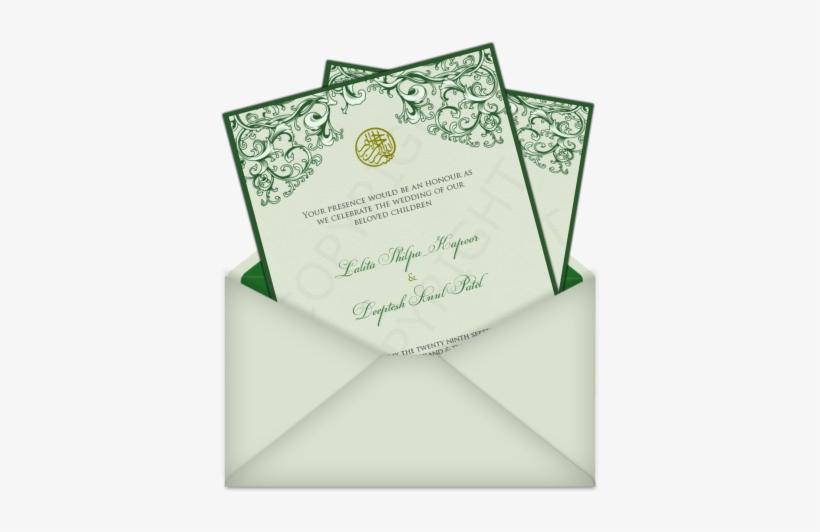 Islamic Bismillah Symbol Email Wedding Card Template