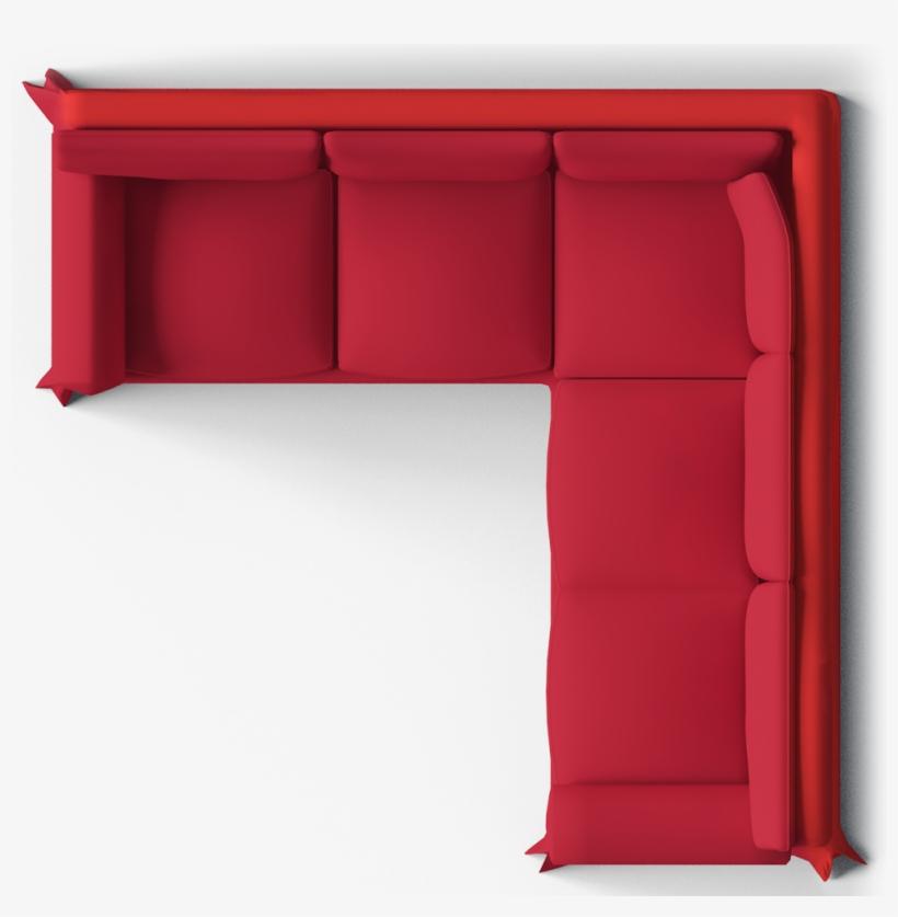 Ektorp Seat Corner Bed Sofa Top L Shaped Sofa Top View Png Image