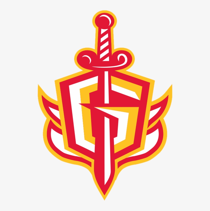 The Gladiators G-sword Logo With Stylized Flames Added