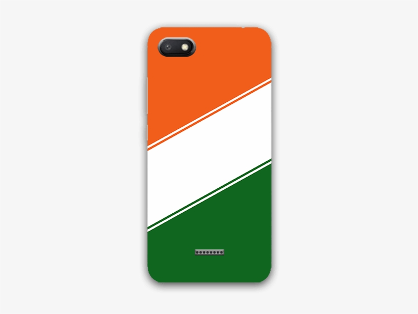 Indian Flag Color Redmi 6a Mobile Back Case - Mobile Phone