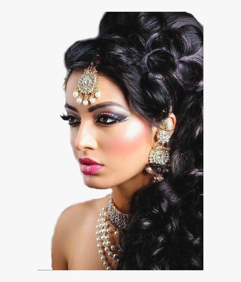 indian weddings - pakistani bridal hair style 2014 png image
