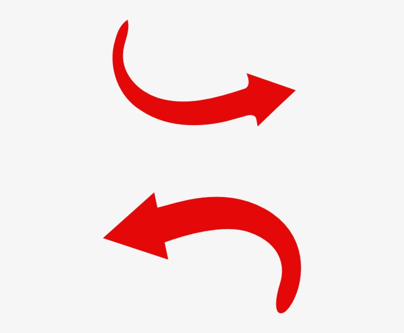 Red Arrow Red Arrow Curve Png Png Image Transparent Png Free