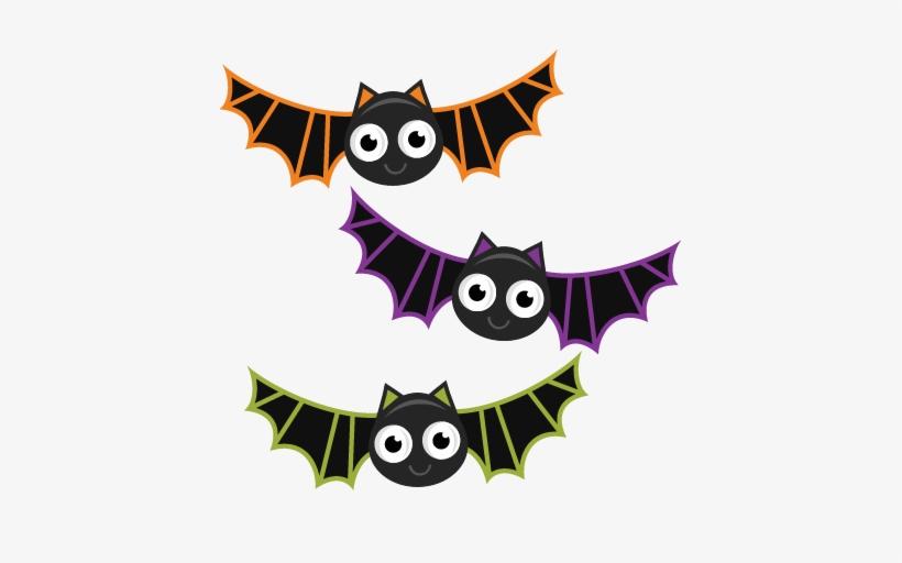 Bats Svg Cutting Files Bat Svg Cuts Halloween Svg Files Cute Halloween Bats Clipart Png Image Transparent Png Free Download On Seekpng