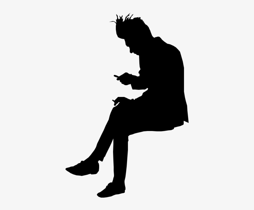 Person Sitting Png Silhouette People Sitting Png Silhouette Png Image Transparent Png Free Download On Seekpng