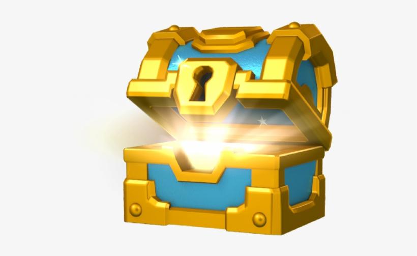 Goldenchest Cofres De Clash Royale Png Image Transparent