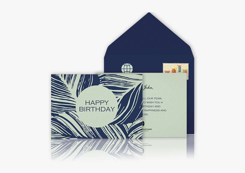 online design birthday card
