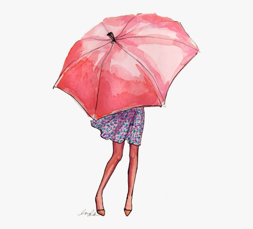 Love This Watercolor Umbrella Picture Kresleni Tuzkou Pro