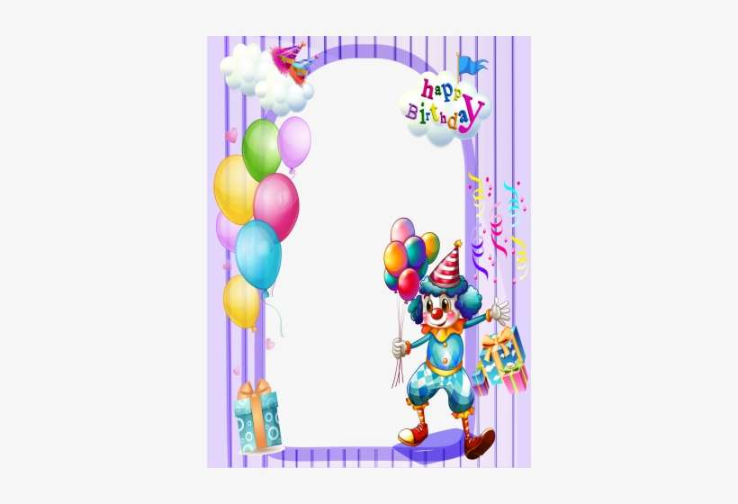 Happy Birthday Frame Maker - Happy Birthday Frames Png Hd PNG Image