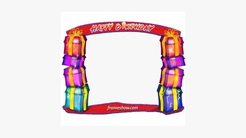 Birthday Gifts Image Frame Ecard