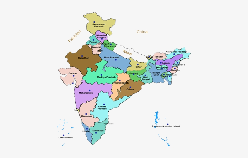 India State Map - Name Of All States Of India PNG Image ... on map with all the countries, map of las vegas strip with hotel names, map of usa with state lines, map of canada and provincial capitals, map of kansas, map of estuaries around the world, map of florida, map of tennessee, map of michigan, map of state s, traveling the states, us map for states, map of obelisks around the world, outline of all states, world map and states, map of alabama, map of new york, map of canada provinces, google maps with states,