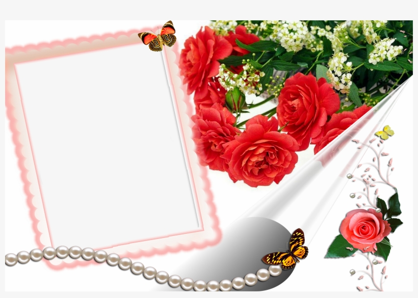 flower love photo frames