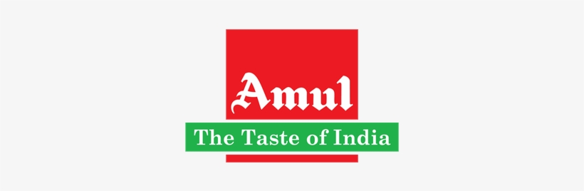 Amul The Taste Of India Logo Png Transparent Images - Amul Taste Of India Logo@seekpng.com