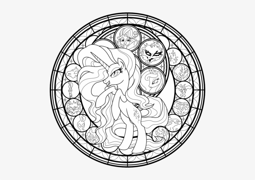 My Little Pony Friendship Is Magic Images My Little My Little Pony Coloring Pages For Adults Png Image Transparent Png Free Download On Seekpng