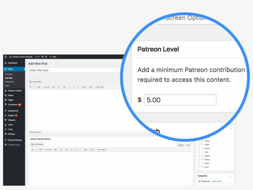 The Plugin Is Free, Maintained And Supported By Patreon