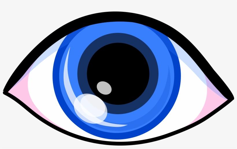 Cartoon Blue Eyes Clipart Blue Eye Clip Art Png Image