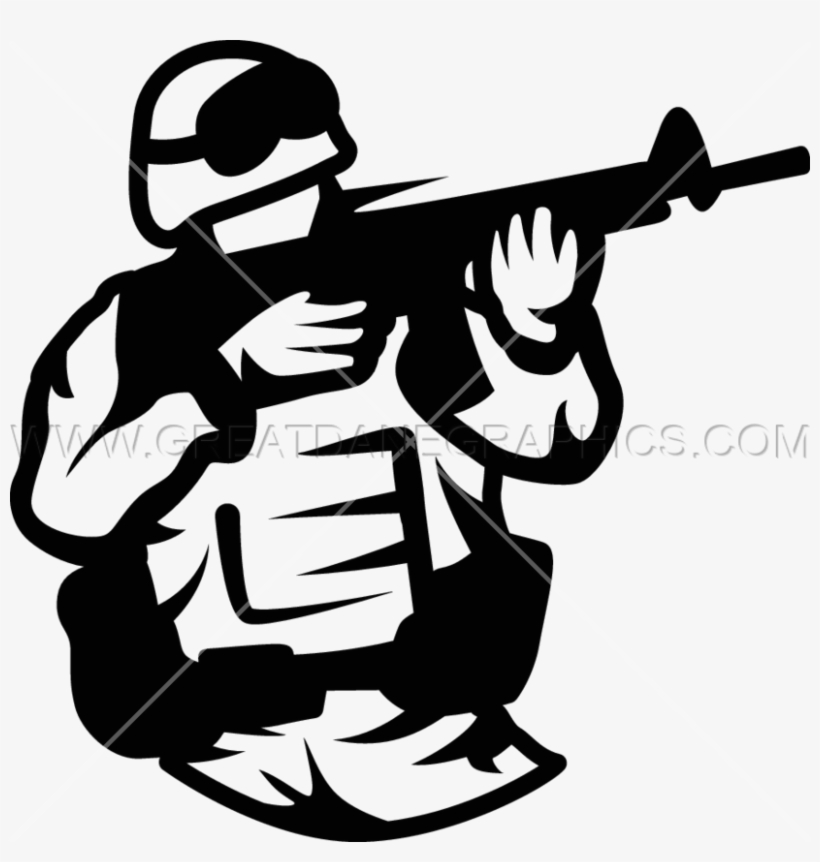 Shooter Clipart Soldier Image