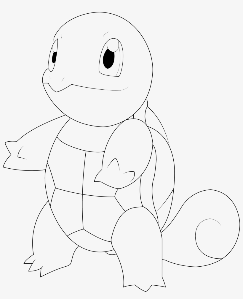 Lineart By Alcadeas Pokemon Detailed Pinterest Sketch Png Image
