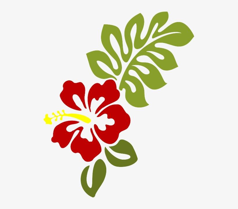 Hibiscus Clipart Moana - Hibiscus Clip Art PNG Image