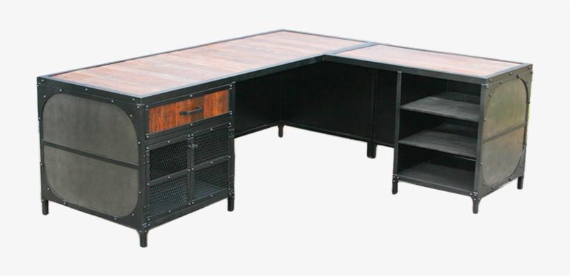 Modern Office Desk Png Image
