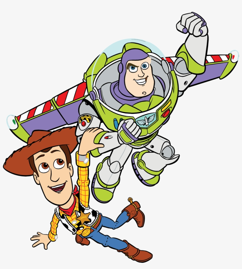 Toy Story And Woody - Toy Story Png Vector PNG Image