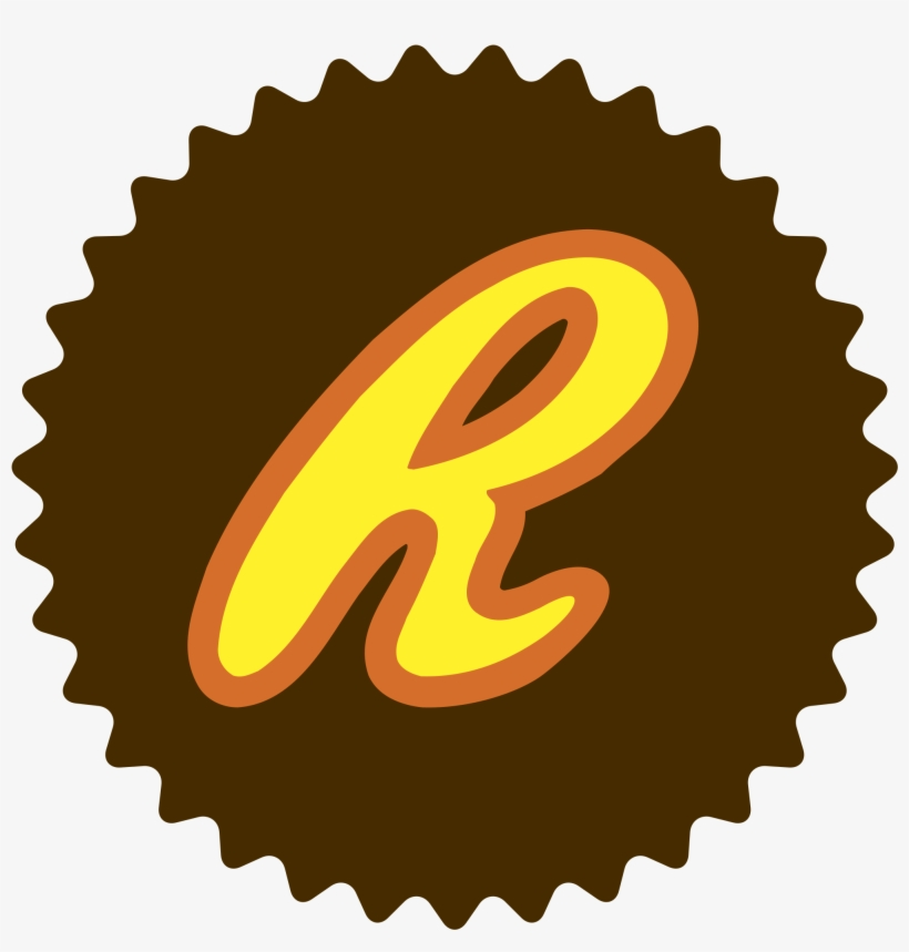 Reese's Logo Png Transparent - Reese's Peanut Butter Cup Outline@seekpng.com