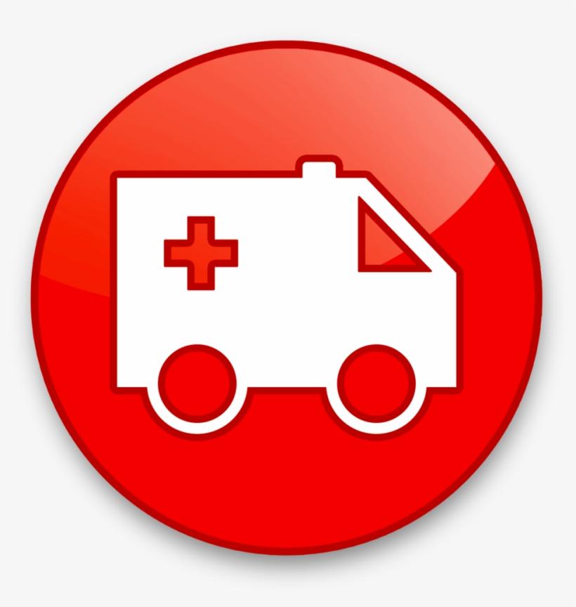 Ambulance Icon - Mega Nz Logo Png PNG Image | Transparent