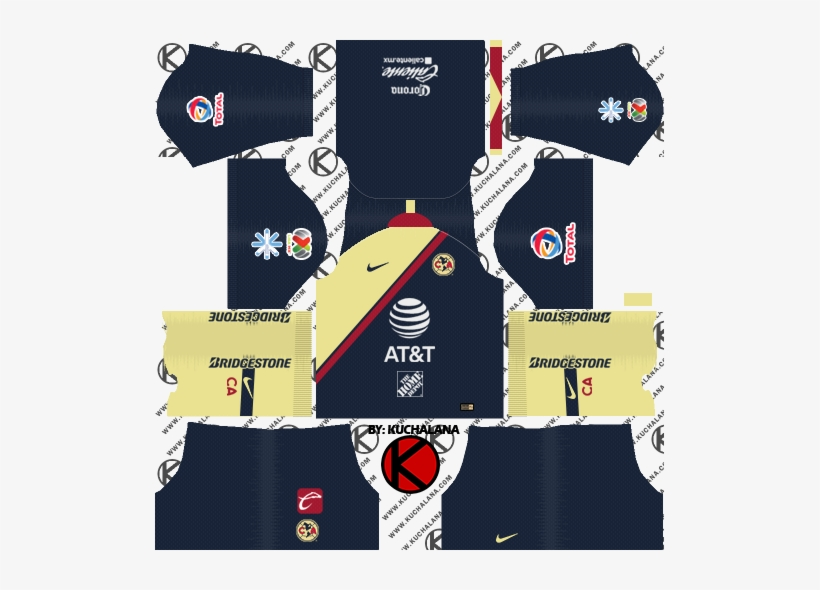 low cost 46f7a 23e7e Club America 2018/19 Kit - Dream League Soccer Kits Psg 2019 ...