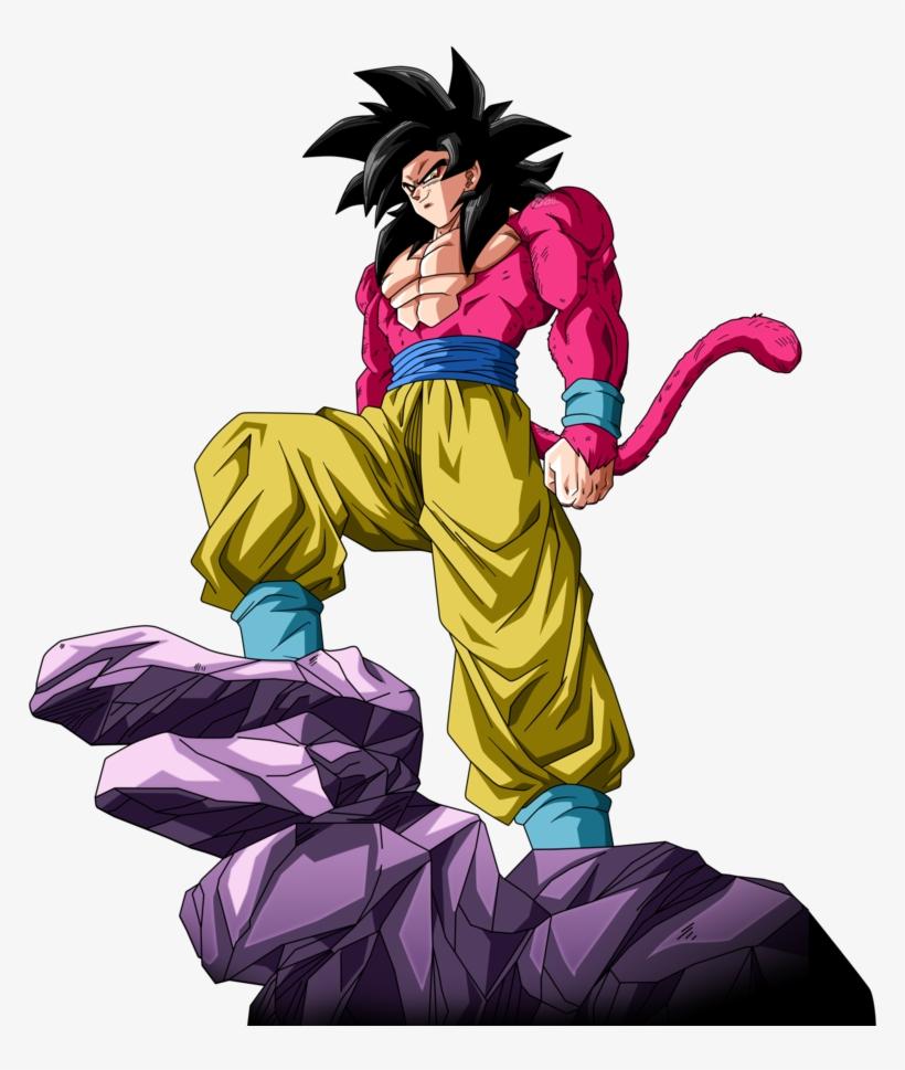 Goku Ssj4 By Saodvd On Deviantart Goku Ssj4 Png Image