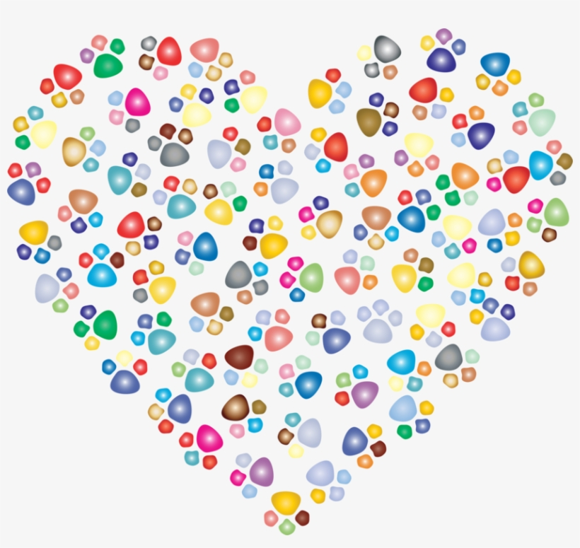 Heart Cat Paw Print Png : Including transparent png clip art, cartoon, icon, logo, silhouette, watercolors, outlines, etc.