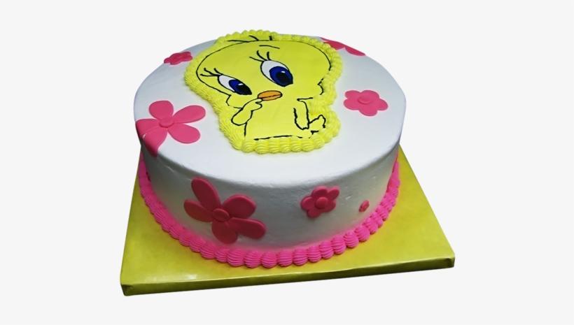 Enjoyable Tweety Bird Custom Birthday Cake Tweety Bird Cakes Designs Png Funny Birthday Cards Online Alyptdamsfinfo
