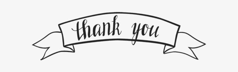 Free Thank You Transparent Background Thank You Frame Png Png