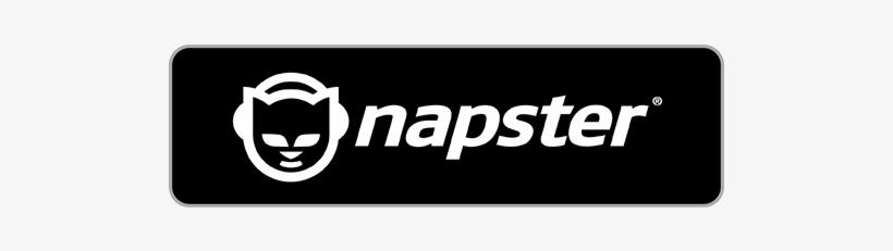 Napster Buy Napster Logo White Png Image Transparent Png Free Download On Seekpng