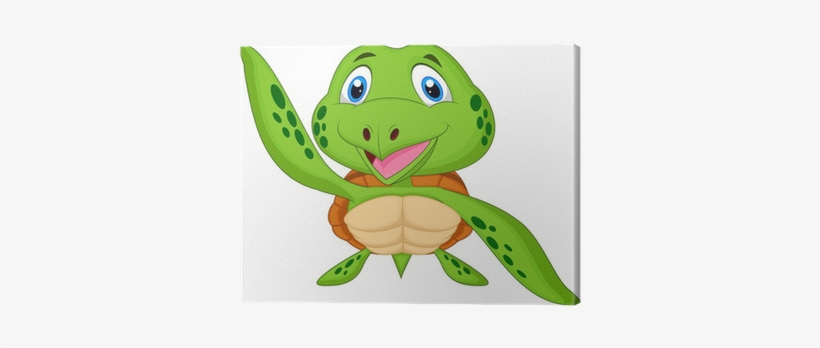 Sea Turtle Cute Cartoons Png Image Transparent Png Free Download