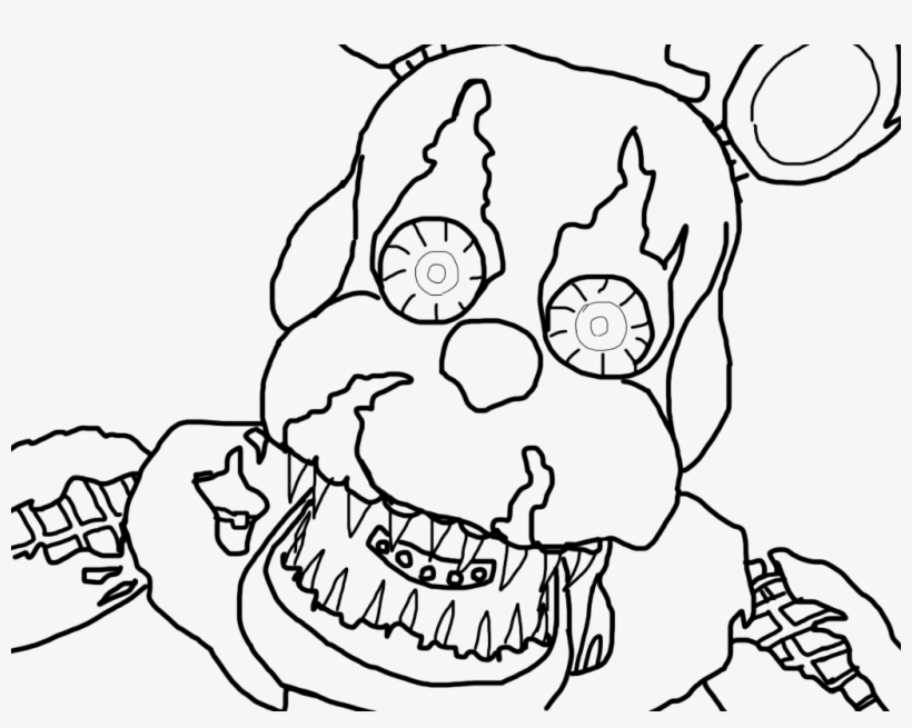 - Freddy Krueger Coloring Pages - Nightmare Freddy Coloring Pages PNG Image  Transparent PNG Free Download On SeekPNG
