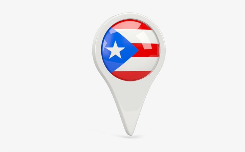 It is an image of Printable Puerto Rican Flag with small