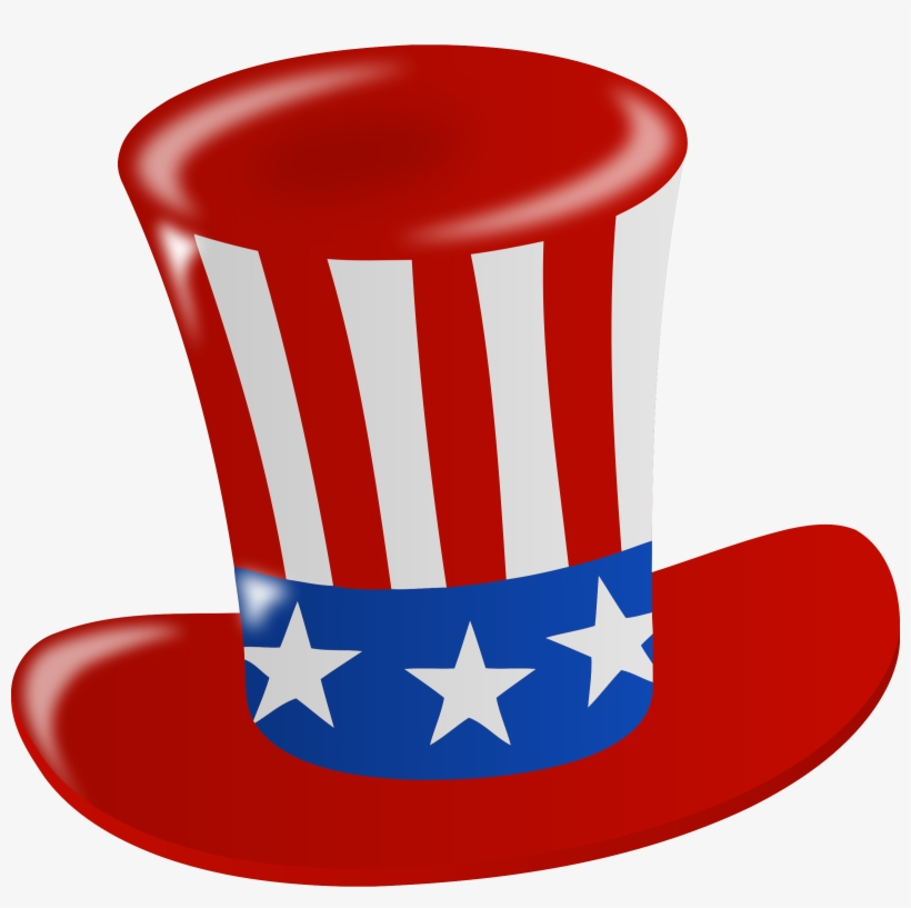 8fbad405e3e1d Graphic Black And White Stock Hat Big Image Png - Transparent Background  4th Of July Clip Art