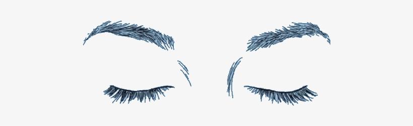 Eye Tumblr Ojos Cerrados Dibujo A Lapiz Png Image Transparent