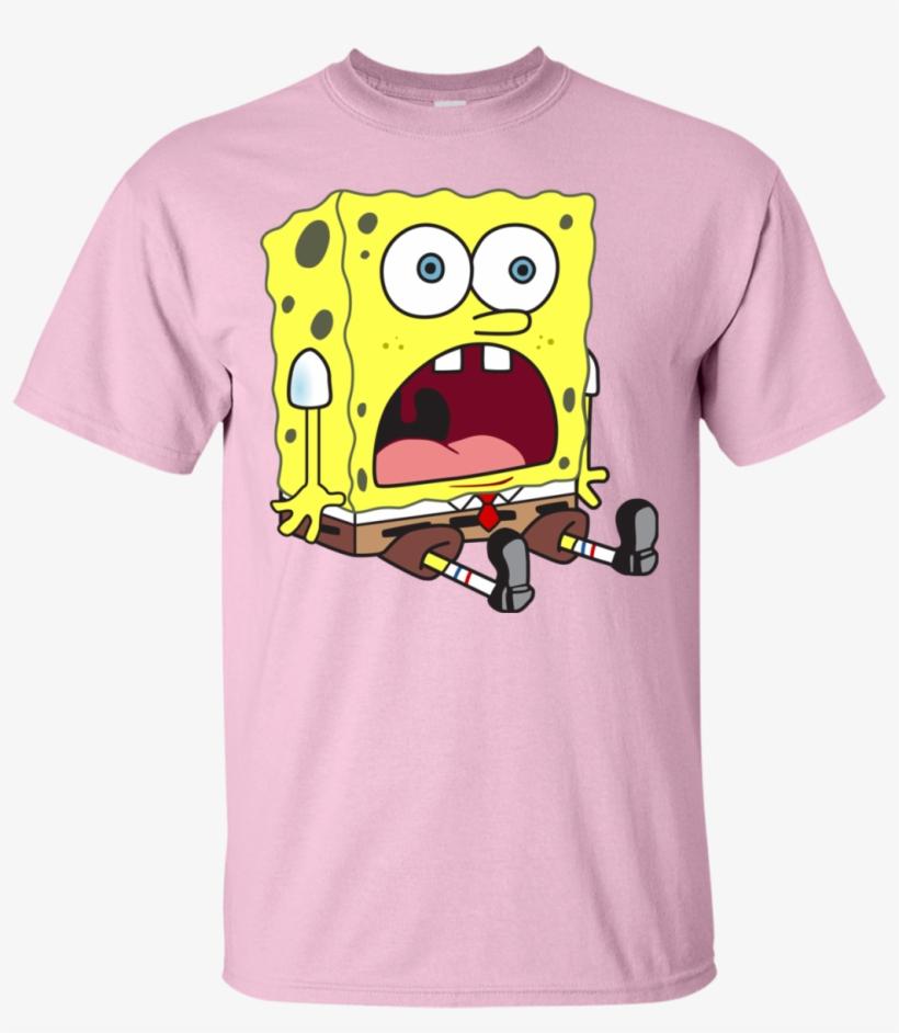 cf56e1396ca Shocked Spongebob T-shirt - Maglietta Gucci Bugs Bunny PNG Image ...