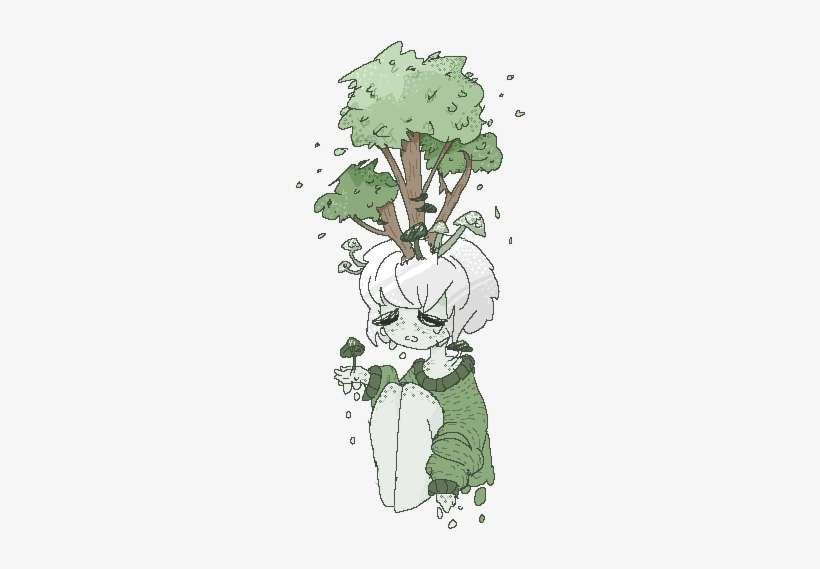 Transparent Pixel Plants Tumblr - Plant Art PNG Image   Transparent