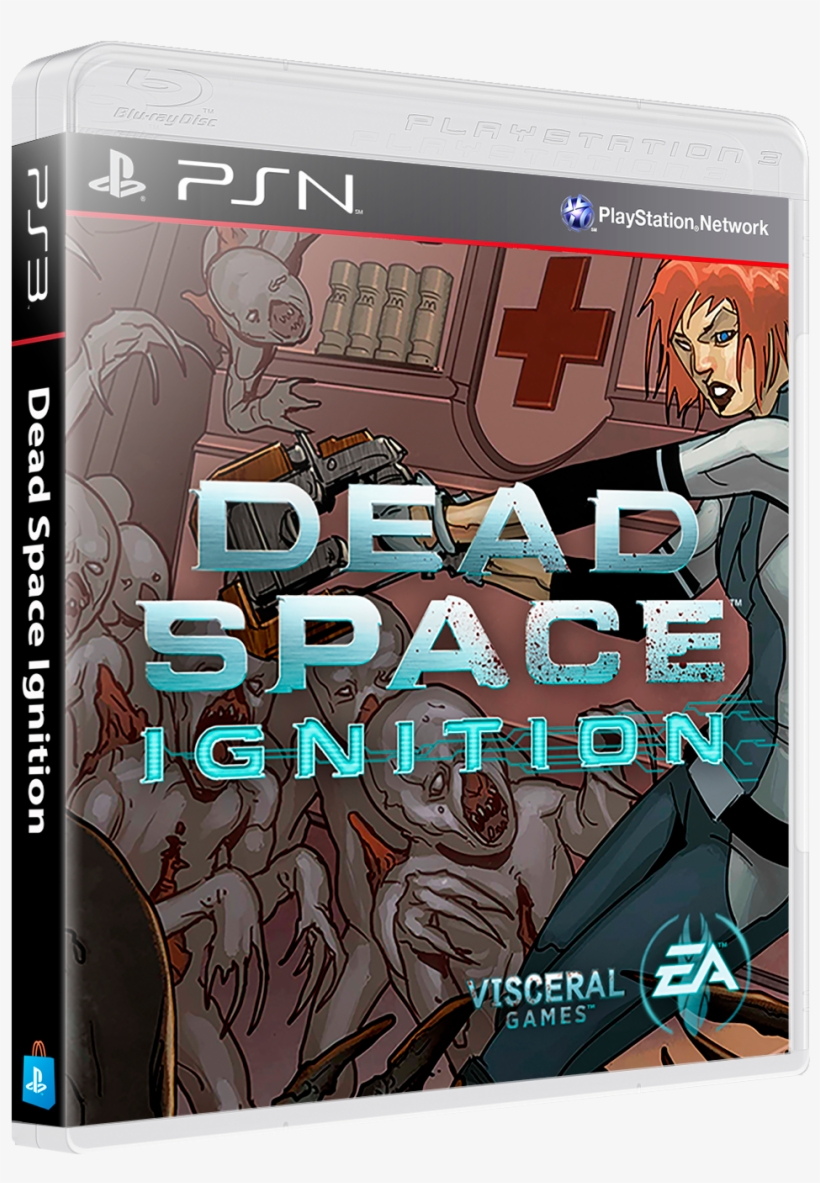 Sony Playstation 3 Psn 3d Boxes Pack Dead Space Ignition Ps3