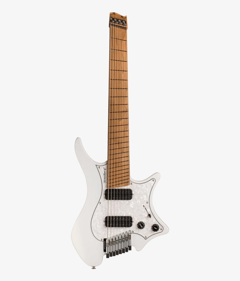 Boden Classic 8 Ghost White Strandberg 9 String Guitars Png Image