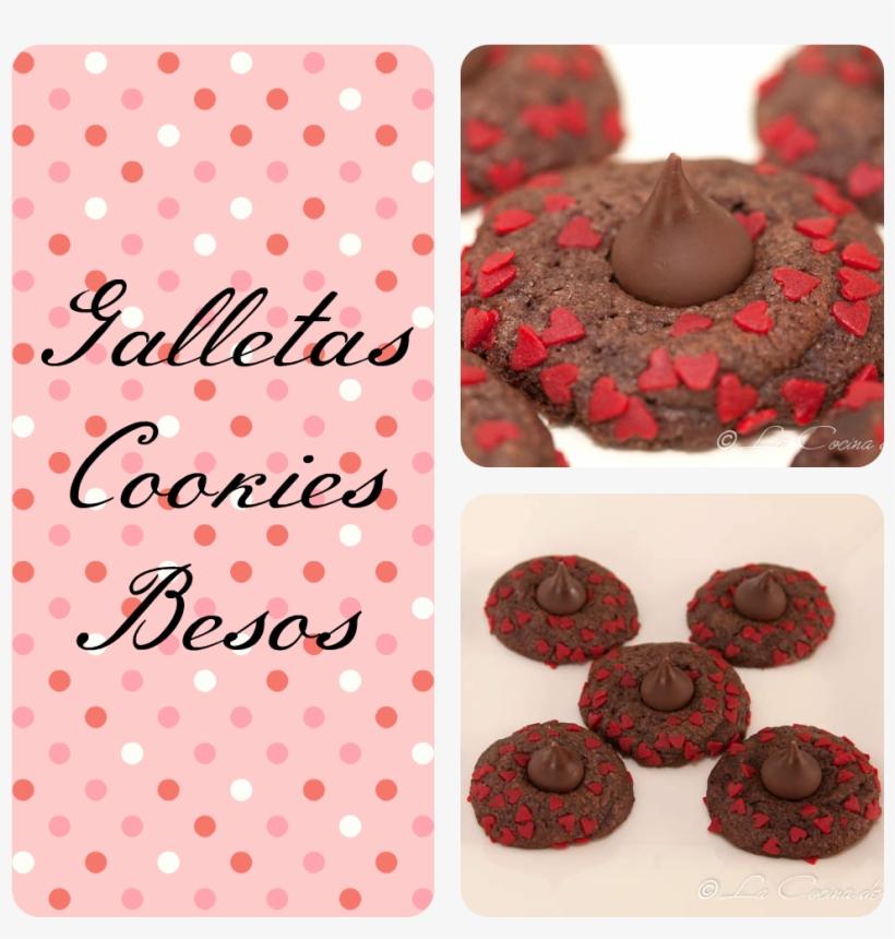 Galletas Cookies Besos
