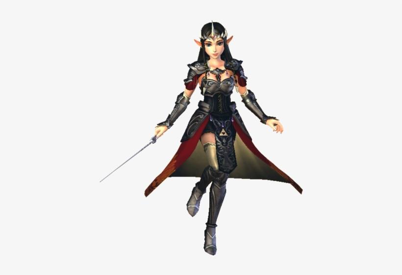 Hyrule Warriors Princess Zelda Standard Outfit Dark Zelda Hyrule Warriors Png Image Transparent Png Free Download On Seekpng