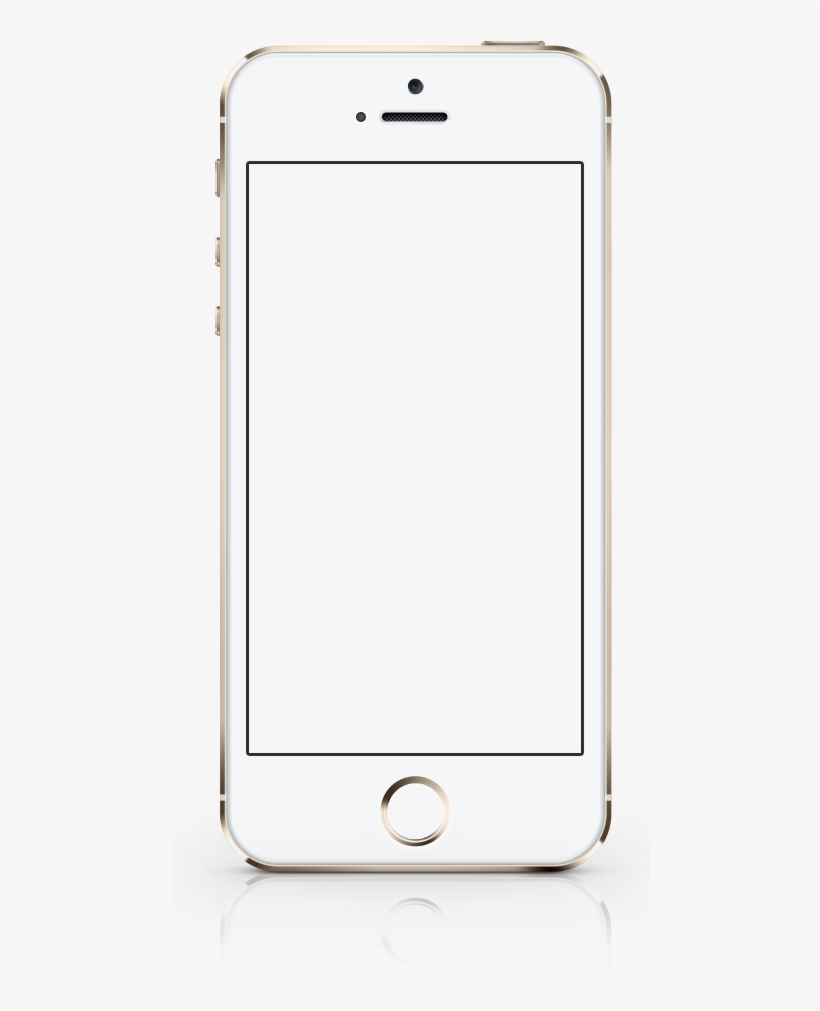Iphone-frame - Iphone Mobile Frame Png PNG Image