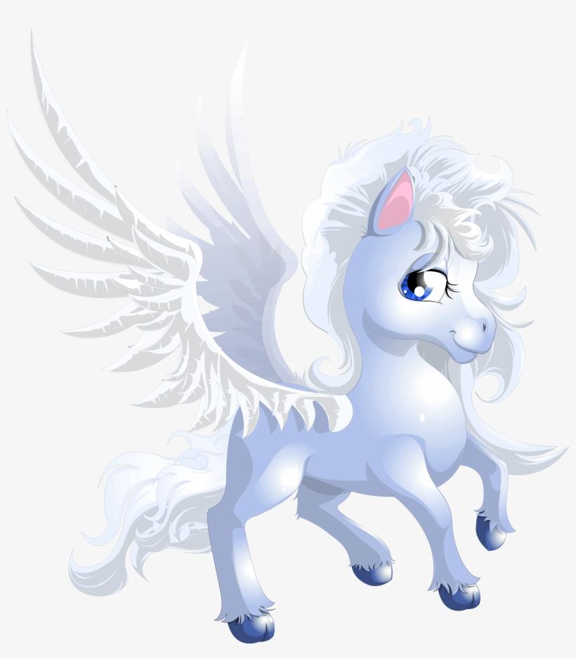 Cute Unicorn Transparent Png Clipart Unicornios Azules Animados